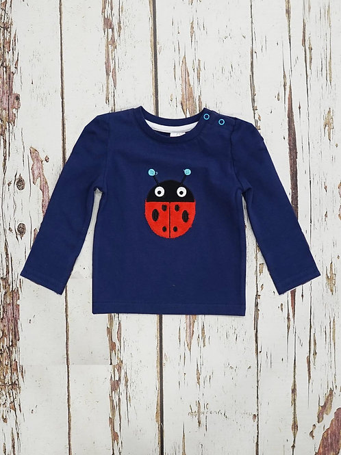 Ladybird Blade and Rose Baby Top