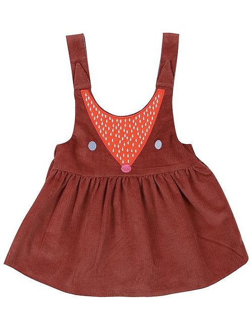 Lilly & Sid  Organic Reversible Fox Pini Dress