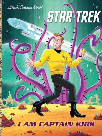 Star Trek I Am Captain Kirk A Little Golden Book