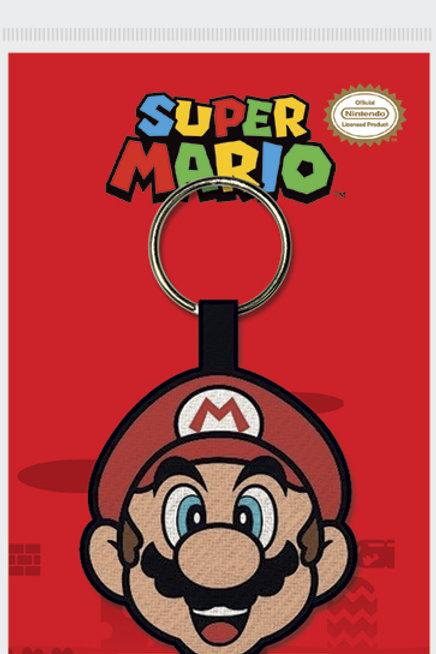 Super Mario Woven Keyring