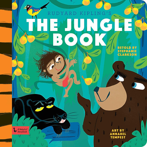 The Jungle Book: A BabyLit Storybook Hardcover