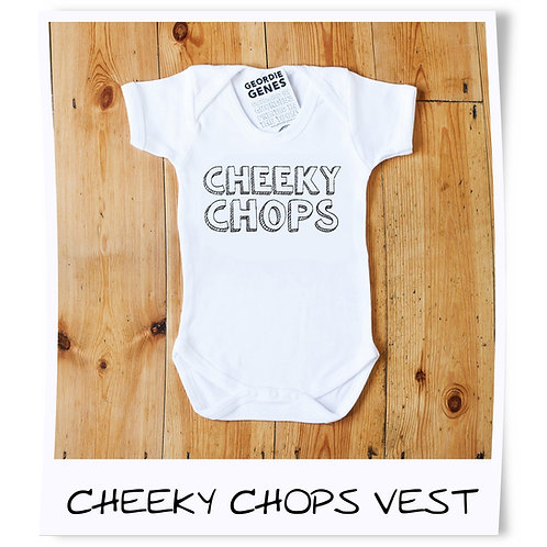 Geordie Genes Cheeky Chops Vest