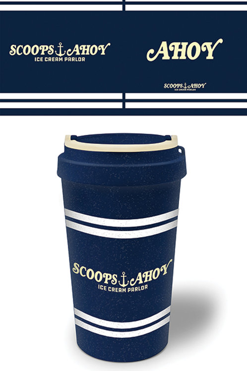 Stranger Things Scoops Ahoy Eco Travel Mug