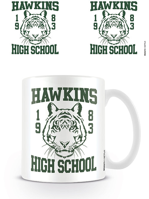 Stranger Things Hawkins High School Mug