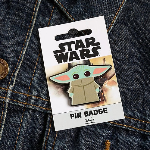 Star Wars Mandalorian The Child Pin Badge