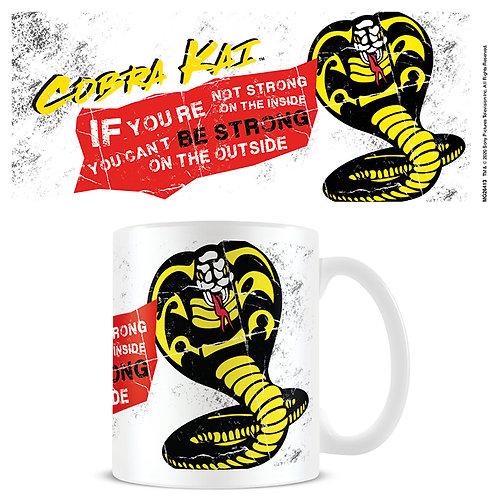 Cobra Kai Snake Mug