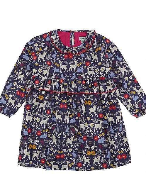 Lilly & Sid Organic Animals Woven Dress