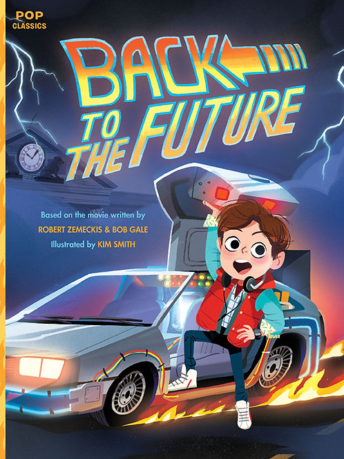 Back To The Future Pop Classic Illustrated Story Book