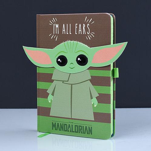 """Mandalorian """"The Child"""" A5 Premium Notebook"""