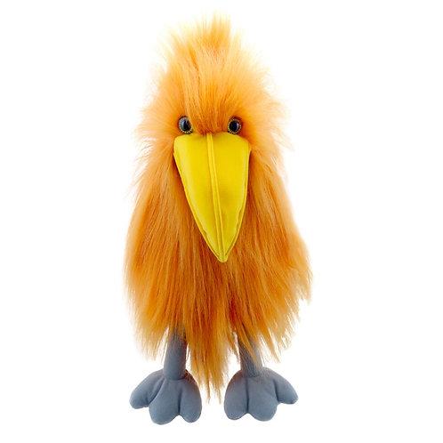 Orange Bird Hand Puppet