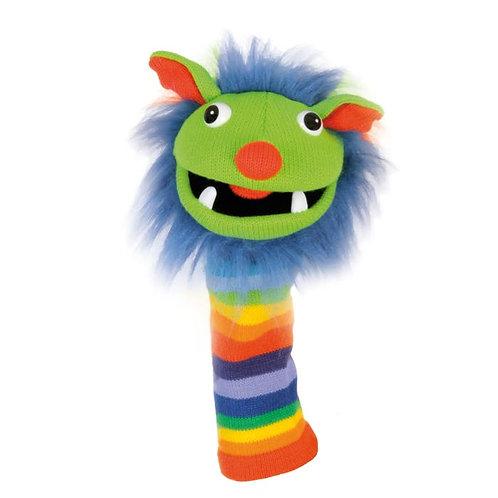 Sockettes Hand Puppet Rainbow