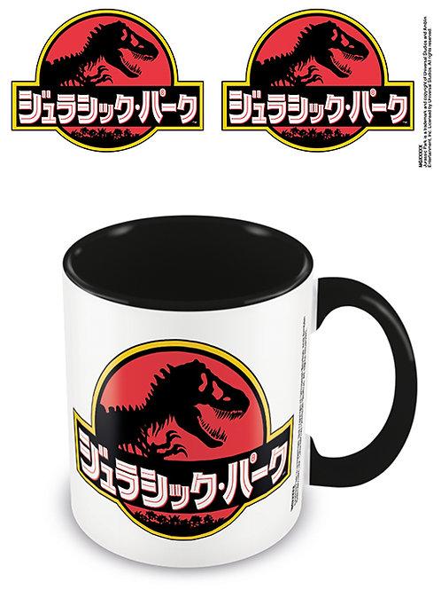 Jurassic Park Japanese Text Mug
