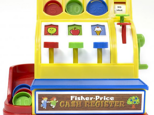 Fisher-Price Classic Cash Register