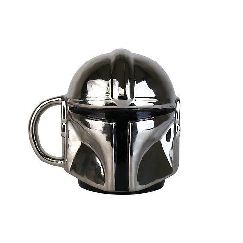 The Mandalorian Electroplated 3D Mug
