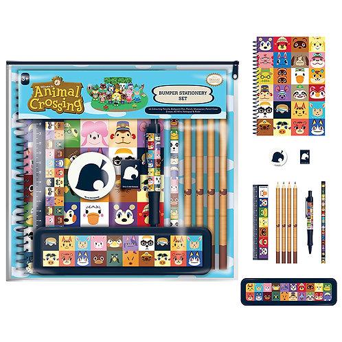 Animal Crossing Bumper Stationery Set