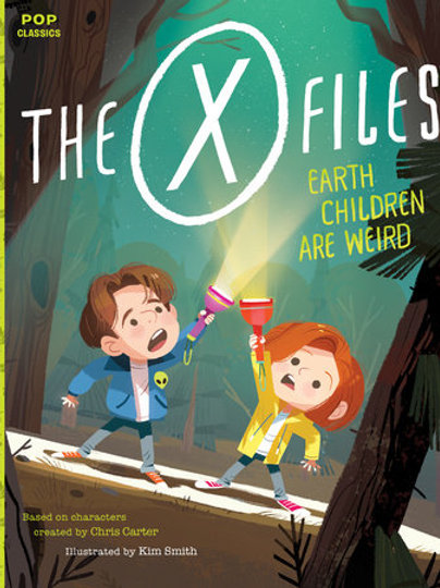The X-Files: Earth Children Are Weird Story Book