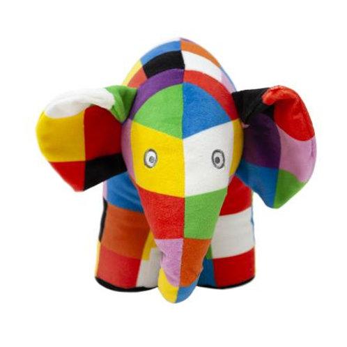 Large Elmer Soft Toy