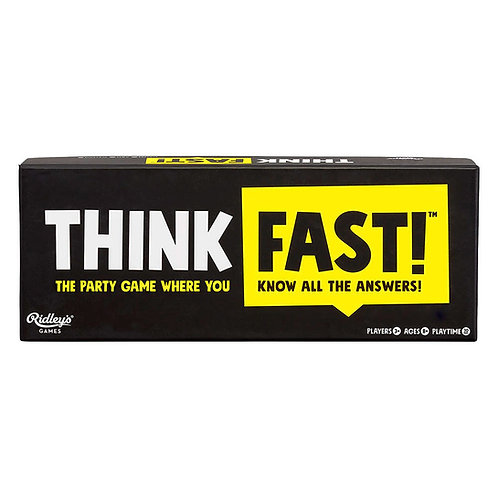 Ridley's Games Think Fast Trivia Game