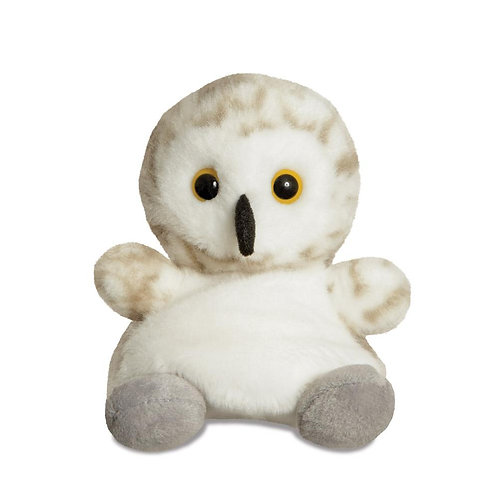 Palm Pals Snowflake Snowy Owl 5in Soft Toy