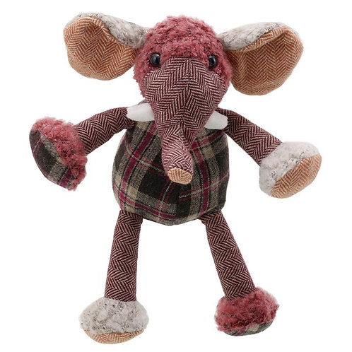 Wilberry Woolies Elephant Soft Toy