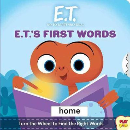 E.T First Words Book