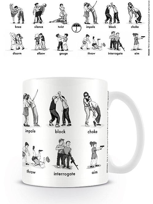 Umbrella Academy Defence & Dominate Mug