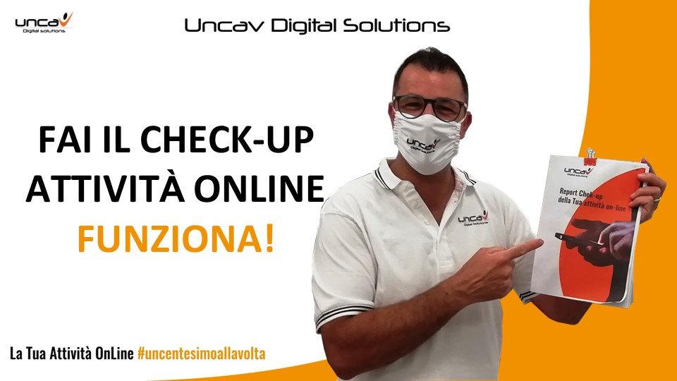 check-up attività online - uncav digital