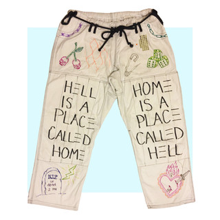 Hell Is A Place Pants