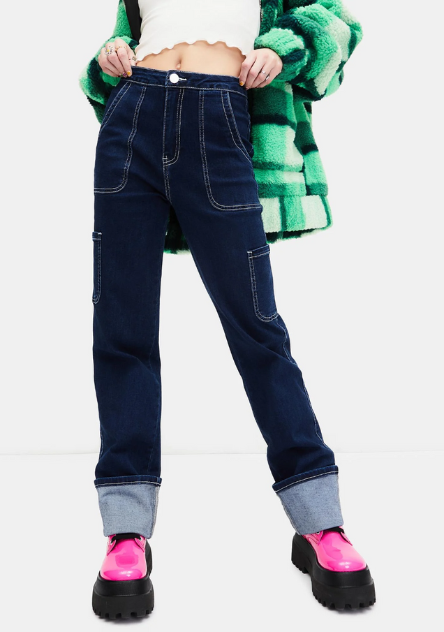 Ride The Wave Cuffed Carpenter Jeans.png