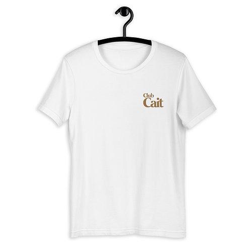 Club Cait White T-Shirt
