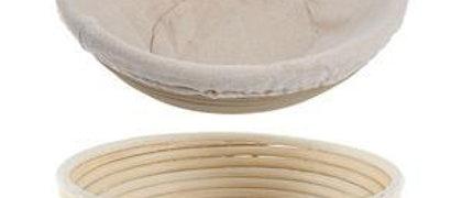 """סלסלת התפחה ללחם 25/20 ס""""מ עגולה + בד"""