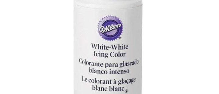 צבע מאכל לבן - WILTON