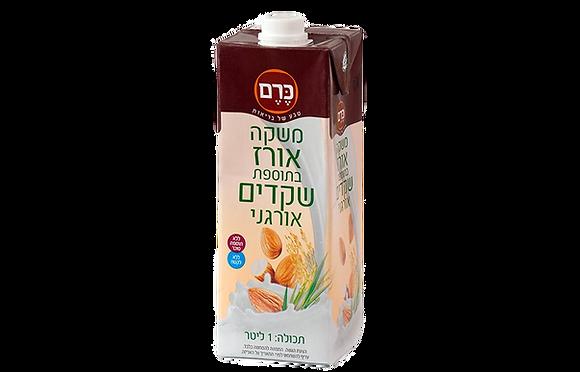 חלב שקדים אורגני - 1 ליטר
