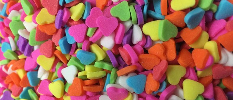סוכריות לב - צבעוני