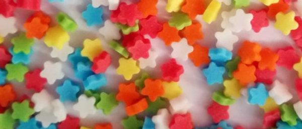 סוכריות כוכבים - מיני צבעוני