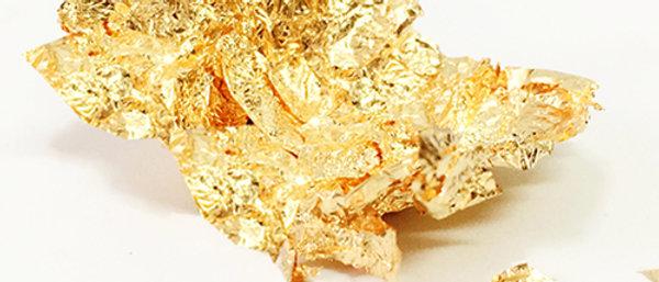 פתיתי זהב אכילים