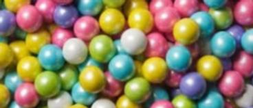 חרוזי סוכריות לקישוט