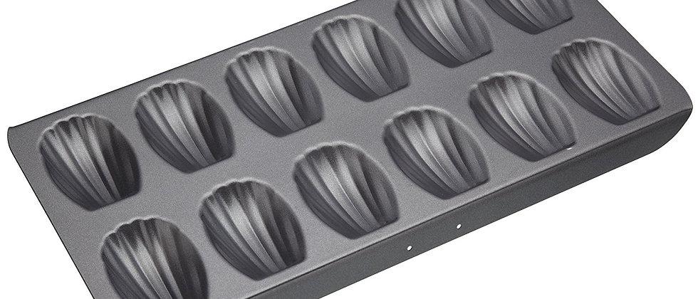 תבנית מדלן טפלון - 12 שקעים