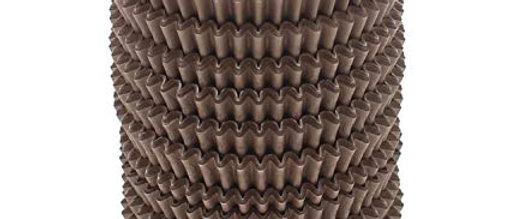 מנג'טים - עטרות נייר מס' 4 -חום 1000 יחידות