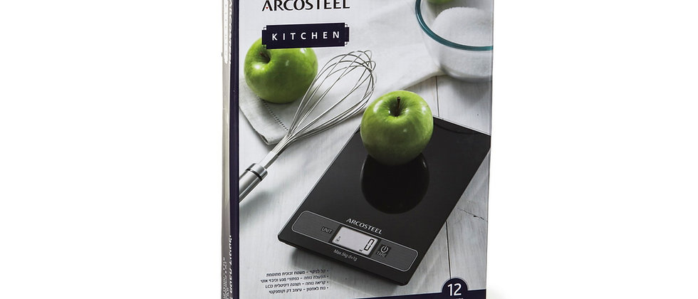 """משקל דיגיטלי - ארקוסטיל עד 5 ק""""ג"""
