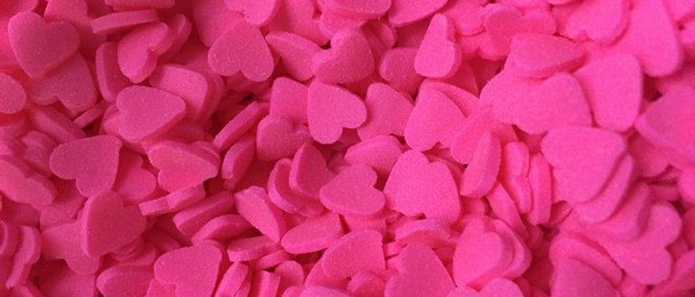 סוכריות לבבות ורודים