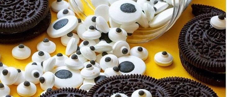 סוכריות עיניים אכילות - קטנות / גדולות