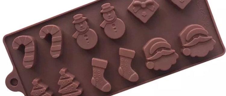 סיליקון לשוקולד | ג'לי - קריסמס