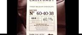 """שוקולד מריר60.1% 5 ק""""ג  Callebaut"""