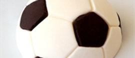כדורגל מבצק סוכר