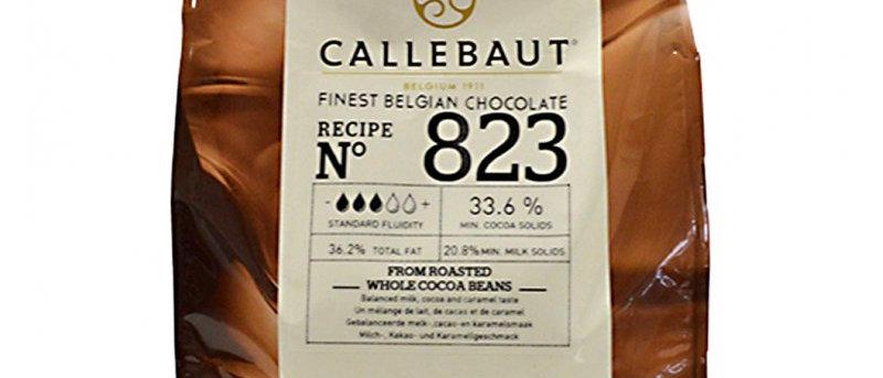 """שוקולד חלב 33.6%  2.5 ק""""ג  Callebaut"""