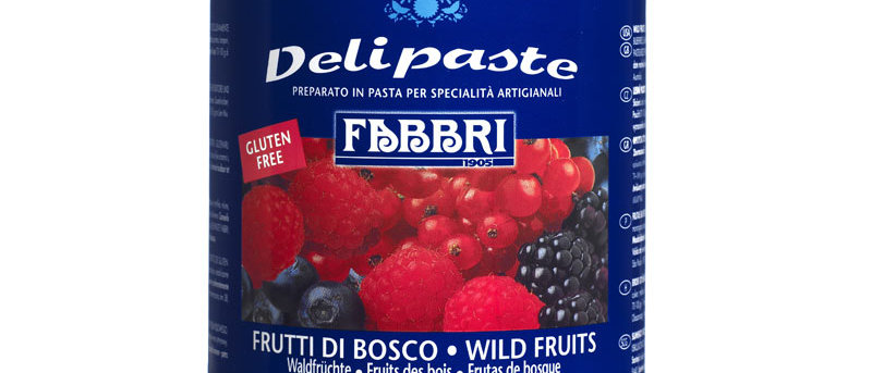 """מחית פירות יער 1.5 ק""""ג -  FABBRI"""