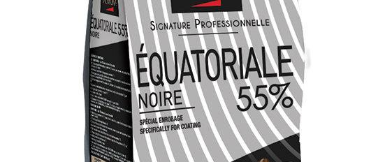 """EQUATORIALE NOIRE 55% שוקולד מריר - 1 ק""""ג"""