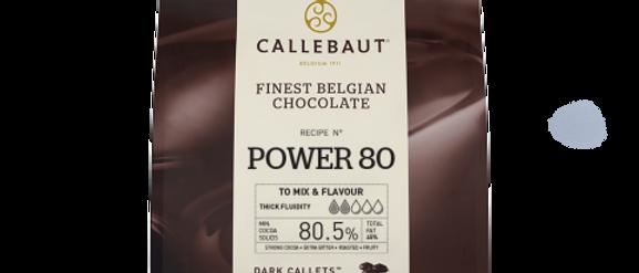 """שוקולד מריר80%  2.5 ק""""ג  Callebaut"""