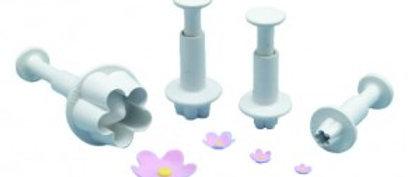 חותכני פרח 5 עלים - קפיץ